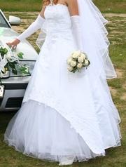 Продам свадебное платье!Недорого!