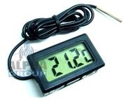 Термометр электрический (цифровой) с выносным датчиком.