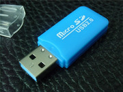 Кардридер microSD . 25грн.