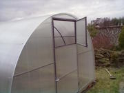 Теплицы под поликарбонат профильная труба 3х2х4 м.