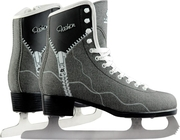 Фигурные коньки FASHION jeans black NEW акция