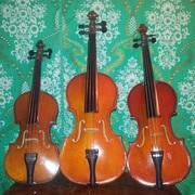 Скрипки московской фабрики