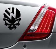 Виниловые наклейки Volkswagen на авто