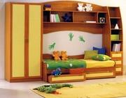 Мебель для детских комнат,  мебель в детскую на заказ недорого