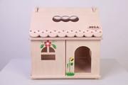 Кукольный домик с росписью