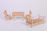 Мебель для кукол из дерева