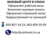 Оформление польской рабочей визы в Сумах! Заполнение анкеты. Страховка